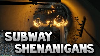 Grand Theft Auto 5 - Subway Shenanigans
