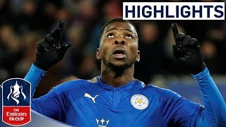 Iheanacho Scores First Ever VAR Goal! | Leicester 2-0 Fleetwood | Emirates FA Cup 2017/18