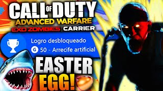 "COMO HACER EL EASTER EGG DE EXO ZOMBIES CARRIER ""ARRECIFE ARTIFICIAL/FLOTSAM Y JETSAM"" TUTORIAL!"