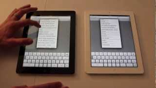 New iPad vs. iPad 2 - Whats new?