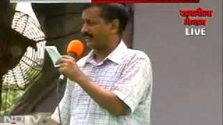 anna hazare anti corruption    arvind kejriwal