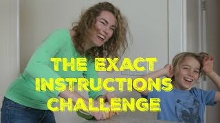 The Exact Instructions Challenge