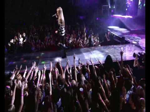 Miley Cyrus - Hannah Montana\Meet Miley Cyrus  - Rockstar live Best of Both Worlds Concert HQ HD