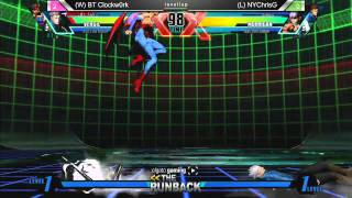 UMvC3 BT Clockw0rk vs NYChrisG - The RunBack 1.6 Grand Finals
