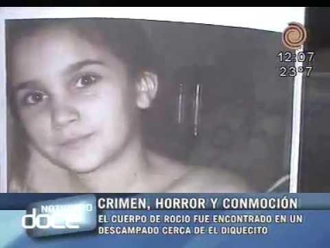 El crimen de Roc�o, Horor y conmoci�n. Noticiero Doce