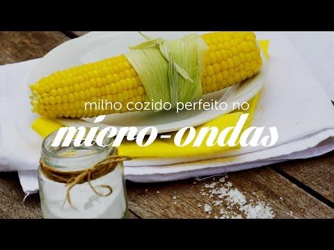 Milho cozido no micro-ondas em poucos minutos   Dicas de Bem Estar - Lucilia Diniz