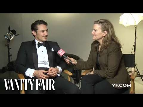 James Franco - Behind The Scenes Interview At His Vanity Fair Hollywood Issue Cover Shoot
