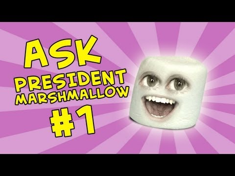 Annoying Orange - Ask President Marshmallow #1