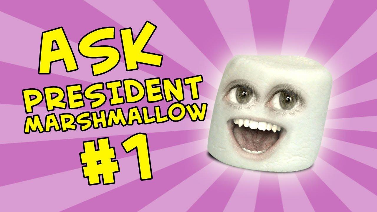 Annoying Orange - Ask President Marshmallow #1 - YouTube