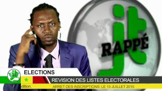 Journal rappé Spécial elections