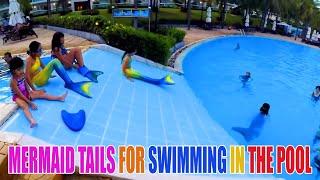 Mermaid Slide | Hội Người Cá Trượt Cầu Tuột Ở Hồ Bơi Lớn Nhất Việt Nam