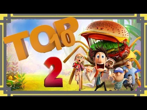 Top 10 Scenes - Cloudy with a Chance of Meatballs 2