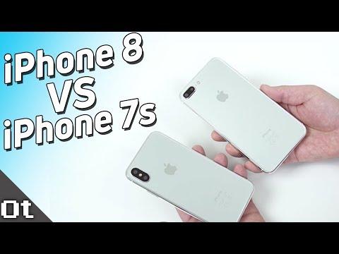 Прототип iPhone 7s Plus против iPhone 8 (X Edition)