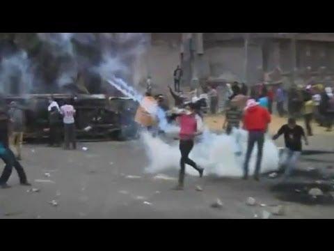 Violent Protests Against President Morsi Across Egypt