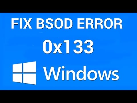 How to Fix BSOD Dpc Watchdog Violation Error 0x00000133