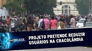 Prefeitura de SP pretende reduzir usuários de drogas na Cracolândia | SBT Brasil (20/05/19)