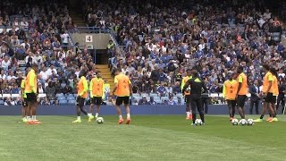 Chelsea Players Train At Stamford Bridge Ahead Of The New Premier League Season