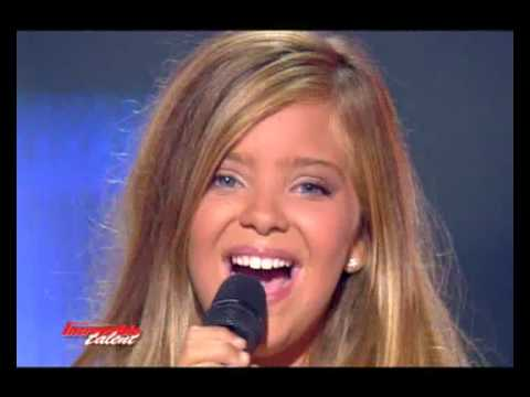 Caroline - Incroyable talent 2008 - 12 ans - Titanic Music Videos