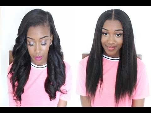 How to Install Clip In Extentions - KRS Hair Group: Knatural Coarse 18
