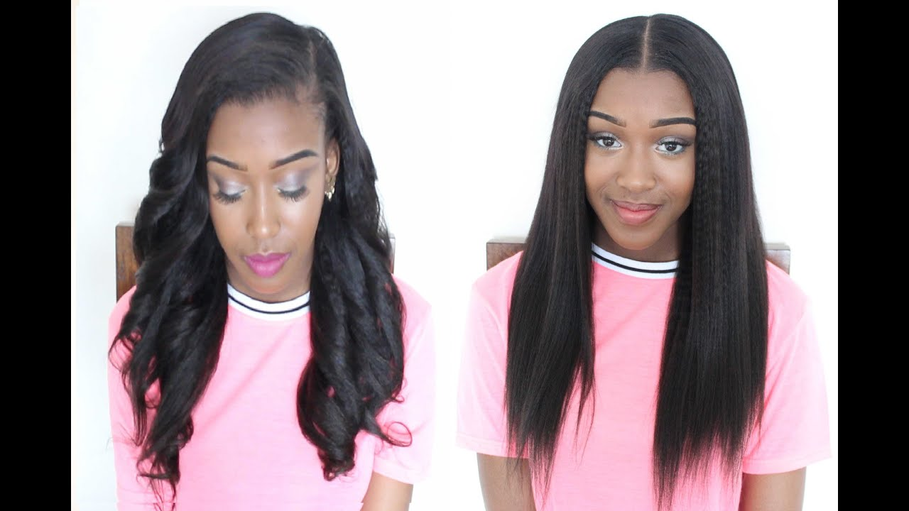 How to Install Clip In Extentions - KRS Hair Group