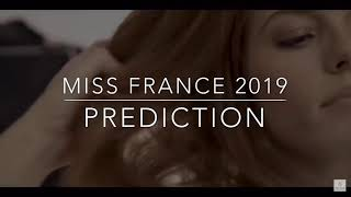 Top 5 miss France 2019