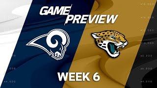 Los Angeles Rams vs. Jacksonville Jaguars   Week 6 Game Preview   Move the Sticks