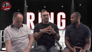 """RING TALK - EPISODE 32 - GOODWIN BOXING """"Wadi Camacho and his Commonwealth Title shot"""" -  10/8/2018"""