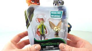 Zootropolis - Nick & Finnick Deluxe Figure Pack | Toy Play Set & Unboxing | Toy Store -Toys For Kids