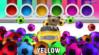 Ball Colors   Learn color with soccer ball with Car and Animal   video for Toddlers #SKTV