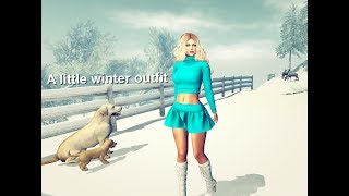 A little winter outfit - Second Life