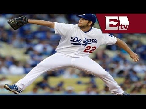 Clayton Kershaw Firma Contrato De 215 Mdd Con Dodgers, El Pitcher Mejor Pagado De La Historia video