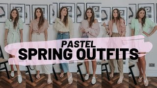 STYLING PASTELS 2020 : 10 Spring Outfit Ideas / Sinead Crowe