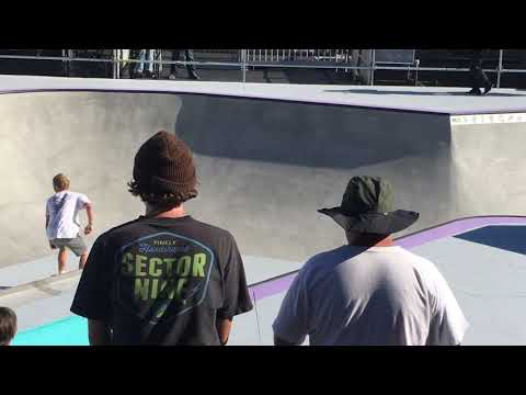 JAKE WOOTEN DEW TOUR LONG BEACH AM BOWL JAM HIGHLIGHTS