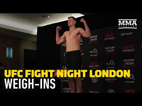 UFC London Official Weigh-In Highlights - MMA Fighting