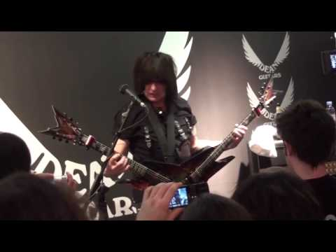 Michael Angelo Batio: dean guitars musikmesse 2009