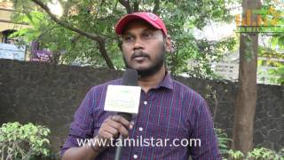 Babu Kumar At Zero Movie Team Interview
