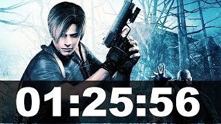 Resident Evil 4 New Game+ Speedrun in 01:25:56 [Xbox 360]