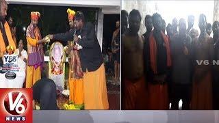 Ayyappa Swamula Maha Padayatra Ends | Devotees Reach Shabarimala
