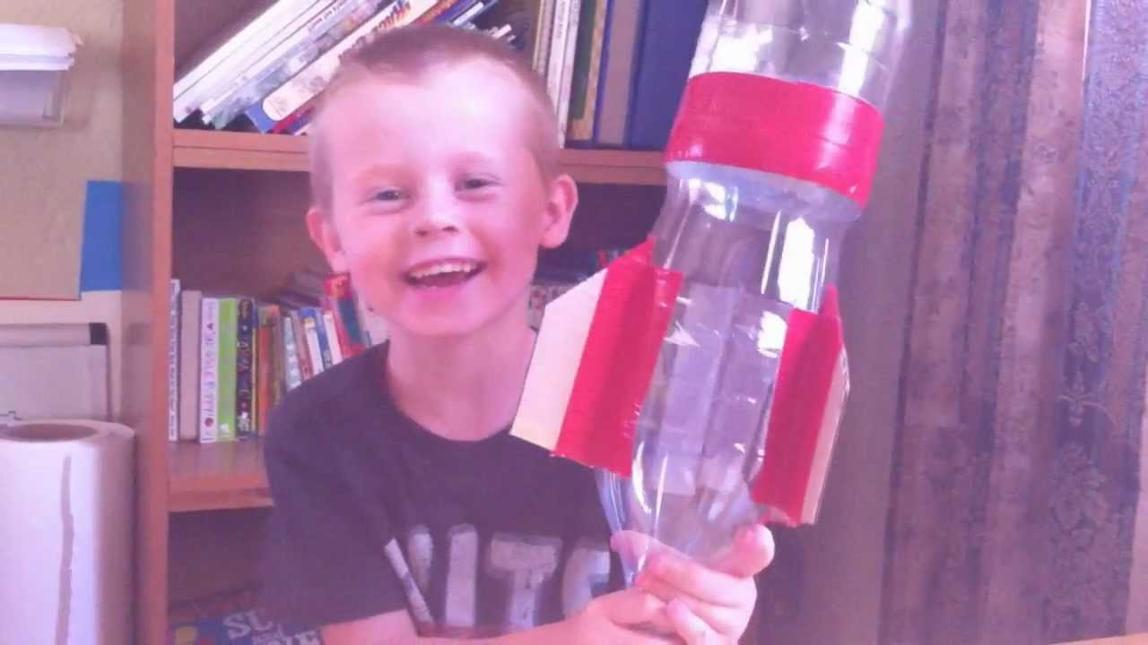 How To Make A Rocket For Kids