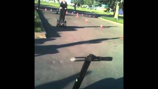 Segway testing @ Moscow