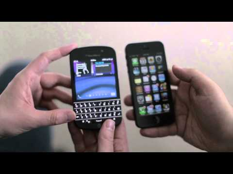 iPhone 5 vs. BlackBerry Q10: Which should you buy?