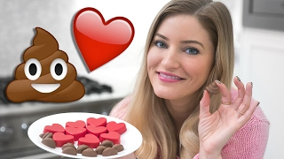 💩❤️ How to Make Poo and Heart Emoji Valentine