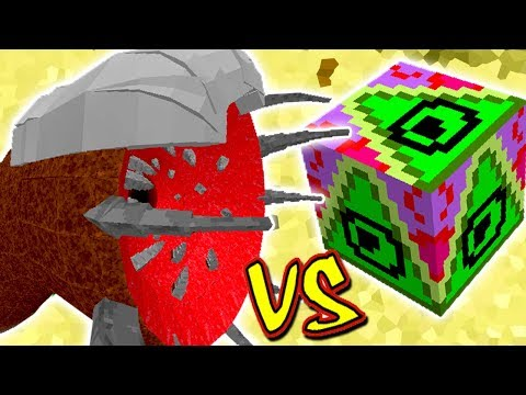 MINHOCA MONSTRO GIGANTE VS. LUCKY BLOCK DELTA (MINECRAFT LUCKY BLOCK CHALLENGE SANDWORM)