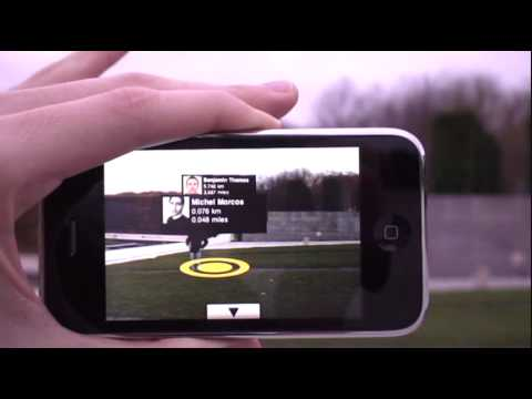 Twitter 360 for the iPhone 3GS with Augmented Reality
