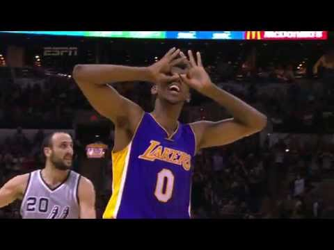 Nick Young Hits Game Winning Three in OT