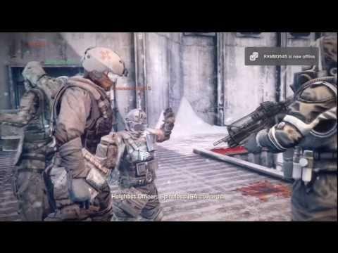 Killzone 3 Beta - Operations All Cutscene (Frozen Dam) [HD]