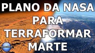 PLANO DA NASA PARA TRANSFORMAR MARTE EM UM PLANETA  HABTÁVEL