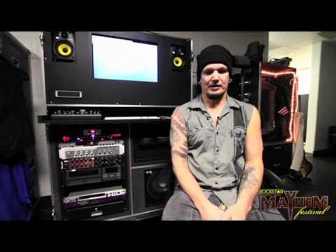 Greetings From Disturbed Guitarist Dan Donegan