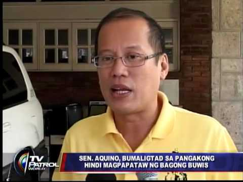 Noynoy flip flops on no new taxes pledge