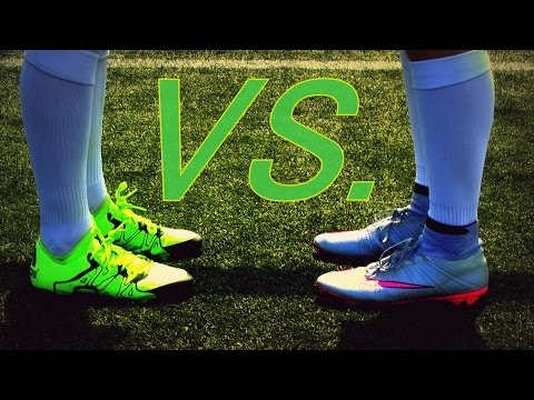 Adidas X 15.1 VS. Nike Mercurial Superfly | Ultimate Boot Comparison